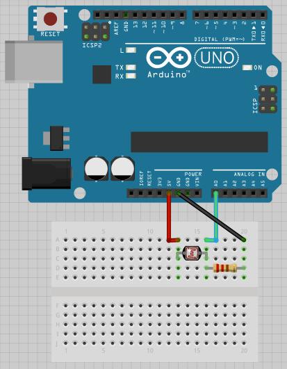 Схема подключения. лазерную арфу.