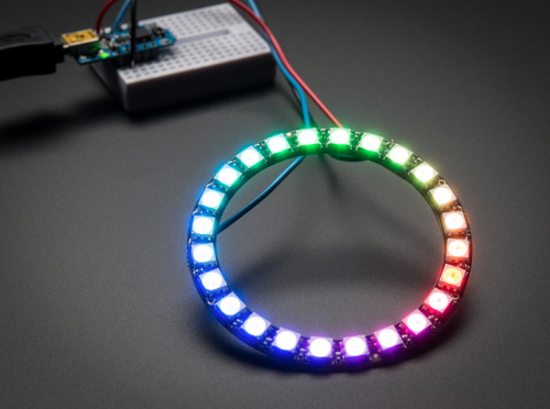 Модуль NeoPixel Ring 24 x WS2812B RGB LED