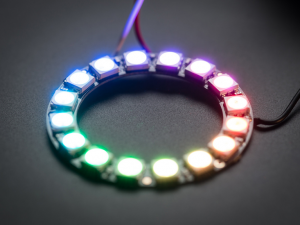 Модуль NeoPixel Ring 16 x WS2812B RGB LED