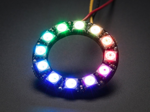Модуль NeoPixel Ring 12 x WS2812B RGB LED